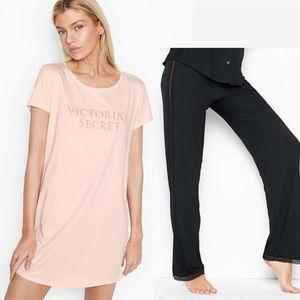 Victoria's Secret Sleep Set Shirt Modal Pants